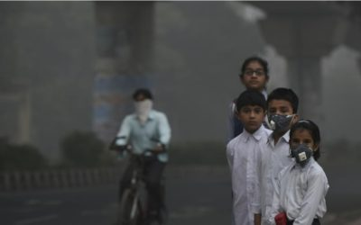 """""""Mom, I can't breathe.""""- Impact of Air pollution on children"""