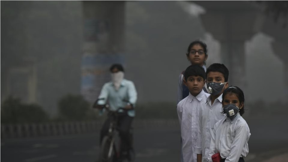 """Mom, I can't breathe.""- Impact of Air pollution on children"